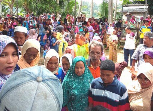 Sukses 400 warga dibantu insan madani