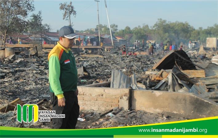 77 rumah di simbur naik ludes terbakar