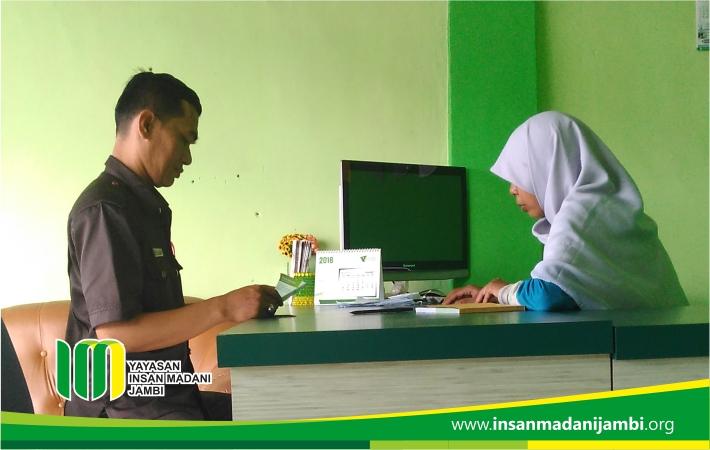 LAZ RSIM Jambi memberikan pelayanan prima kepada seluruh donatur.