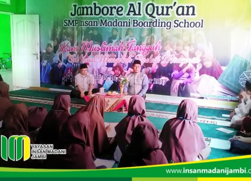 Jambore Al Quran Insan Madani sukses dilaksanakan.