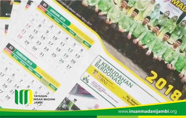 Insan madani sediakan 1000 kalender 2018