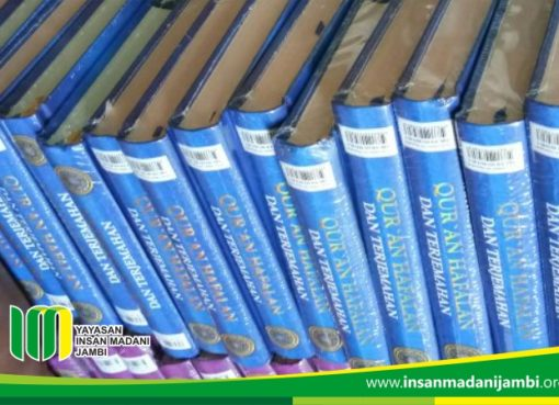 rangkaian milad insan madani serahkan 150 Al Quran hafalan