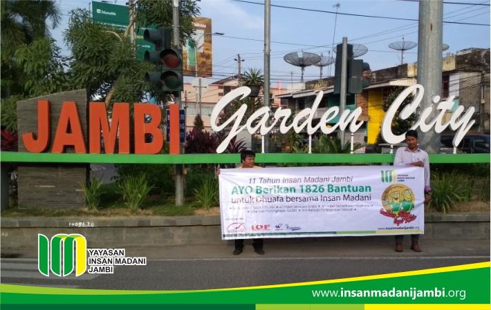 sosialisasi di simpang jelutung jambi garden city
