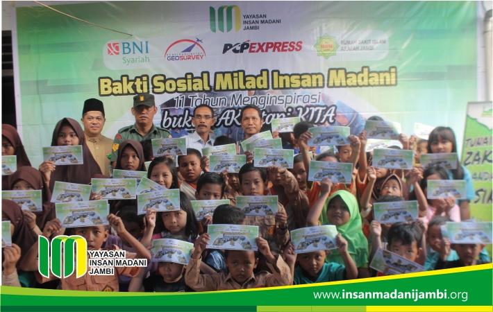 Insan Madani berikan santunan kepada ratusan anak dhuafa