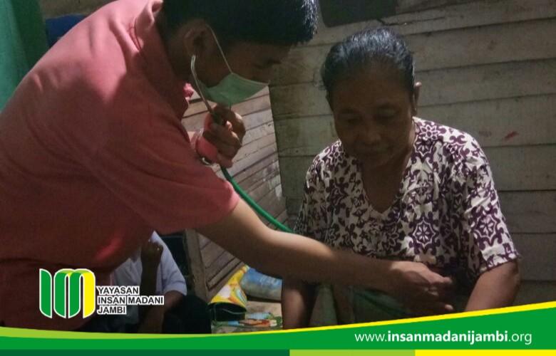 Home visit layanan kesehatan insan madani