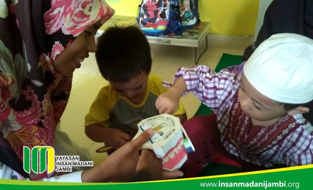 Penyuluhan kesehatan gigi anak