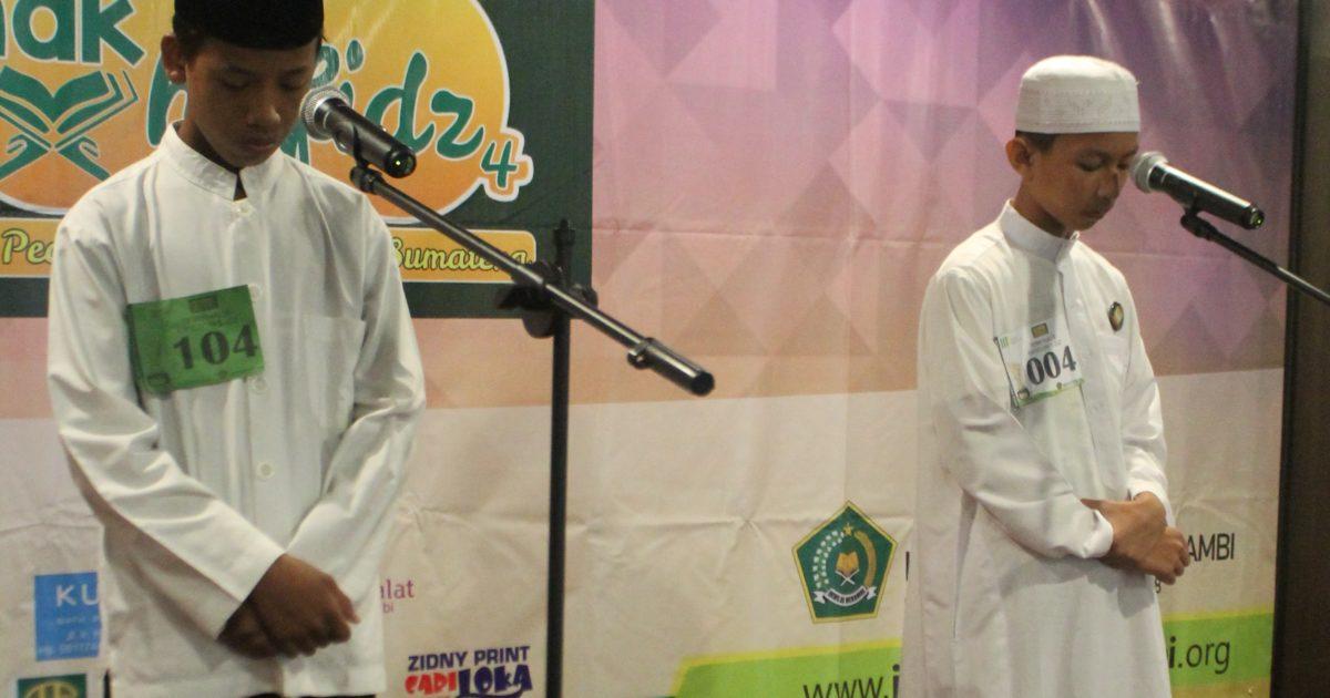 Semi final lomba 1000 anak tahfidz