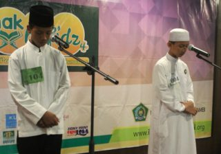 Semi final lomba 1000 anak tahfidz