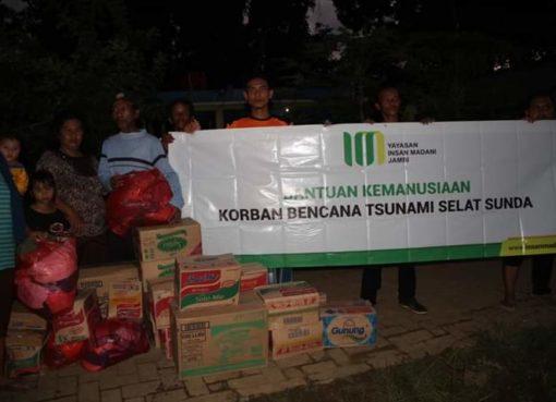 Bantuan Bencana trsunami