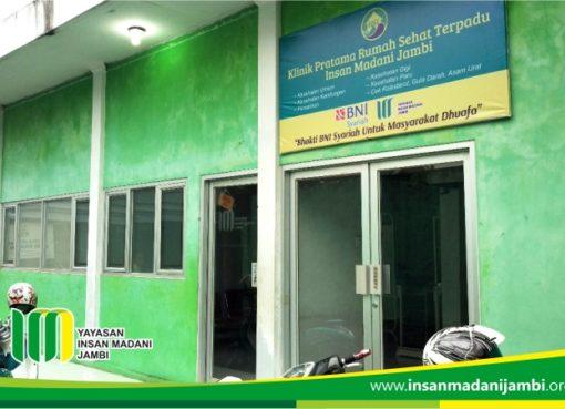 Klinik Kesehatan untuk masyarakat dhuafa di Kota Jambi