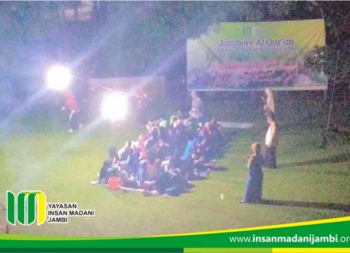 kegiatan uji mental siswi insan madani pada jambore al quran