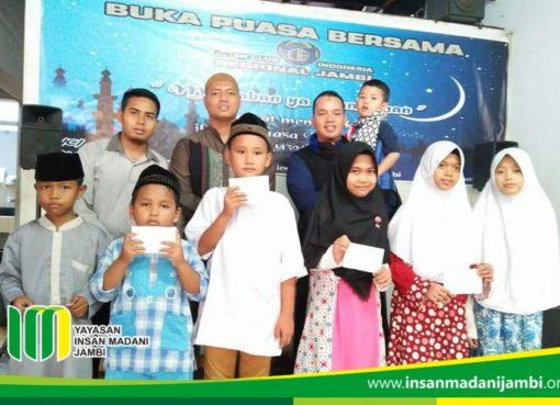 Inter Milan klub Indonesia santuni anak yatim dhuafa