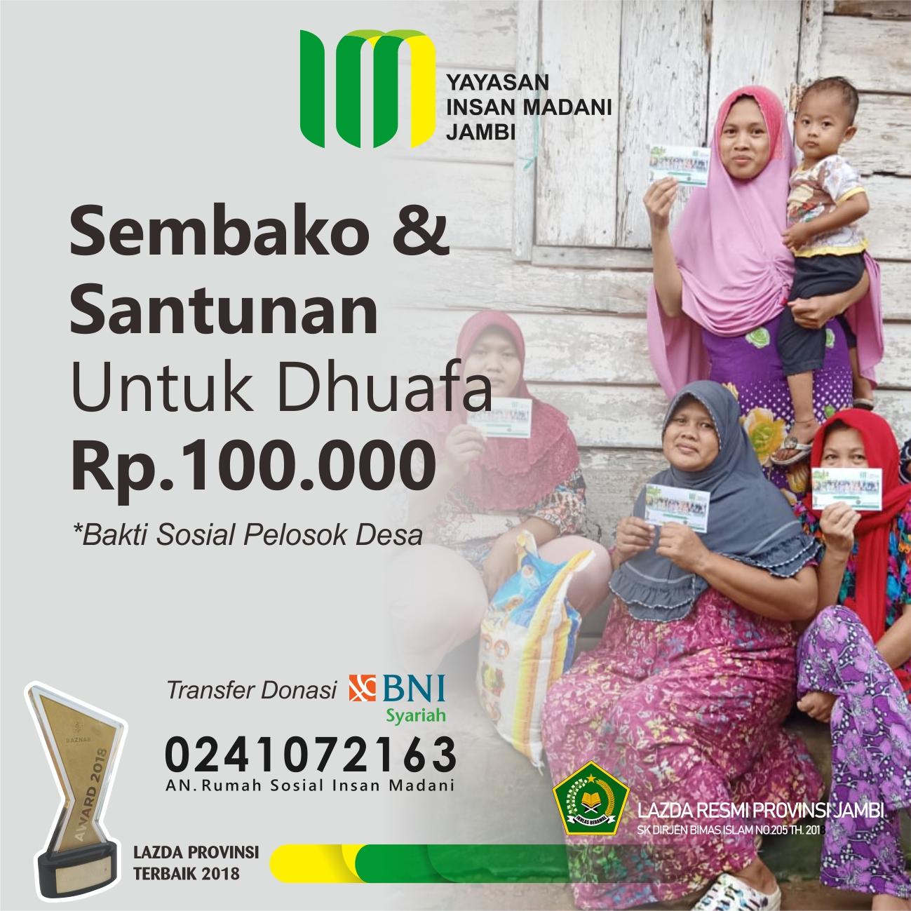 Sembako & Santunan
